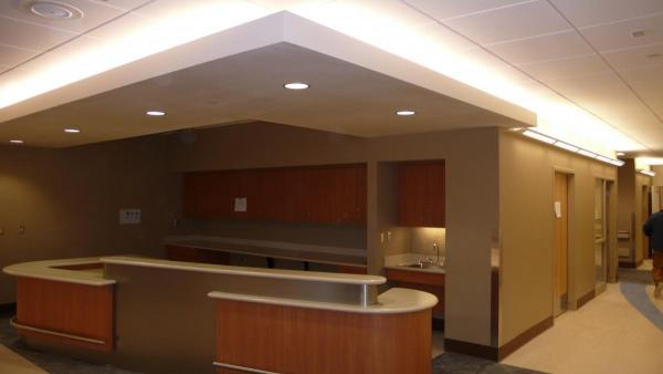 HEALTHCARE RECEPTION LIGHTING