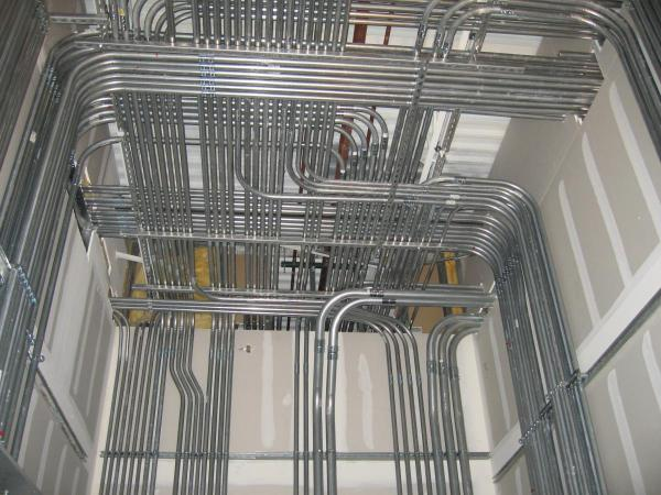 ELECTRICAL CONDUIT ROUTING