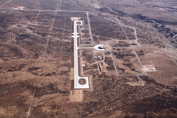 Spaceport America Runway